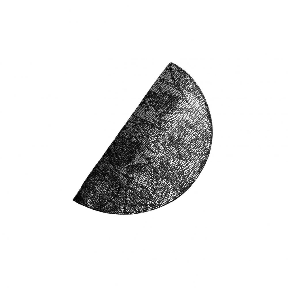 Circle clutch silver