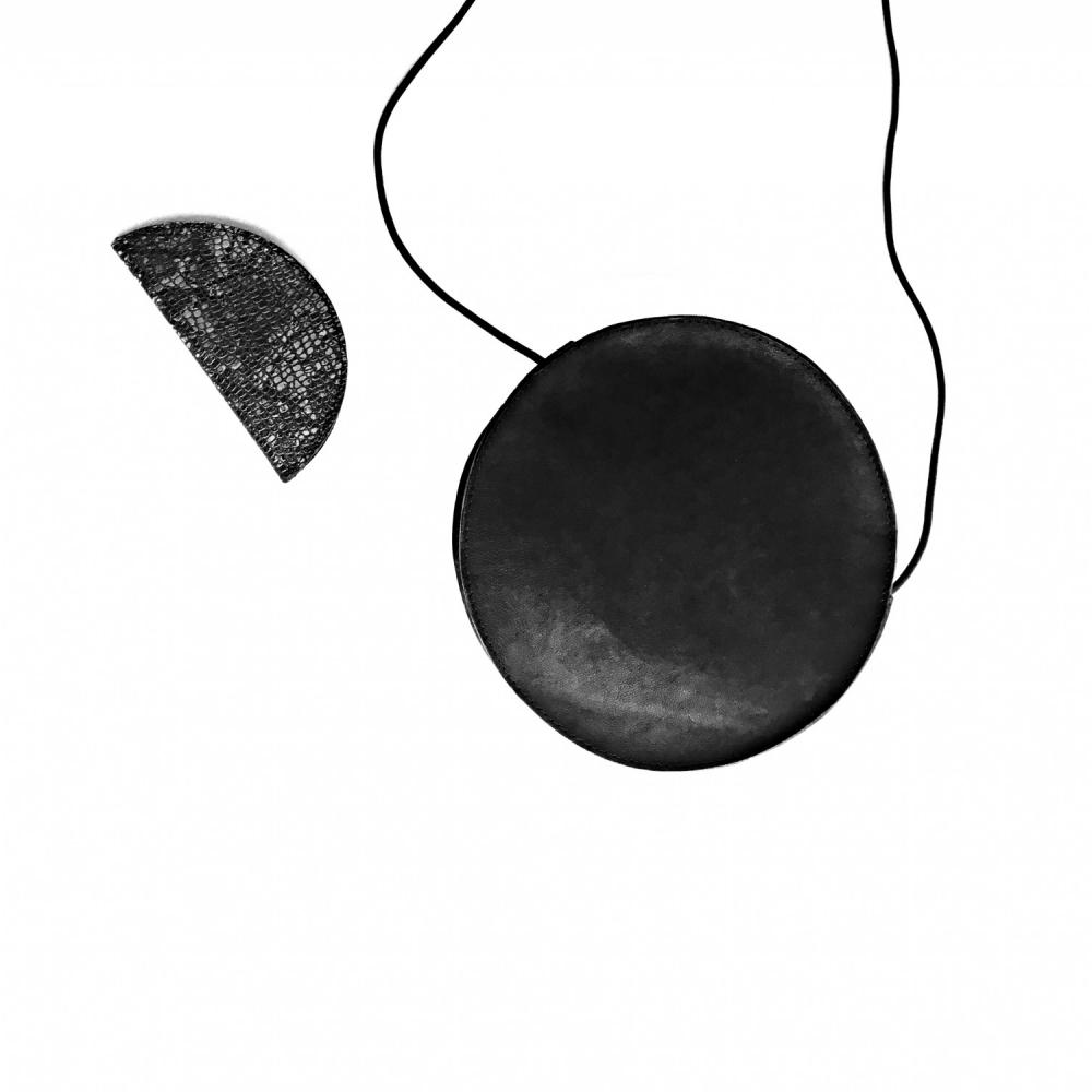 Circle bag black