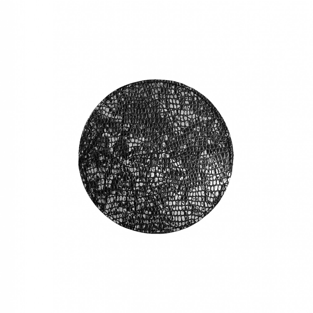 Circle wallet mid silver
